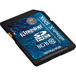 Kingston 8GB SDHC Memory Card Gen 2 Ultimate X Class 10
