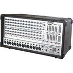 Pyle Pro PMX1406 14-Channel 1200W Active Stereo Mixer with DSP