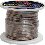 Pyle Pro PSC1250 12-Gauge High-Quality Speaker Zip Wire (50' Spool)