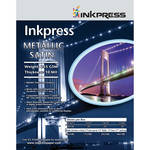 "Inkpress Media Metallic Satin Printing Paper (4 x 6"", 50 Sheets)"