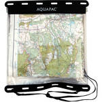"Aquapac Kaituna Map Case (12 x 12"", Clear with Black Border)"