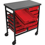 H. Wilson C122S12-PR Bin Workstation/Storage Unit