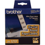 Brother DK1219 Round Paper Labels (1200 Labels)