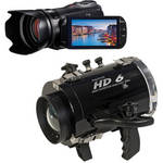 Equinox HD6 Underwater Housing with Canon VIXIA HF G10