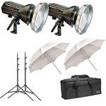 Photogenic StudioMax III Pro Light Kit (120V AC/12V DC)