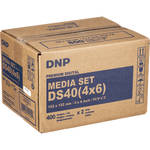 "DNP 4 x 6"" Print Pack for DS40 Digital Photo Printer (2 Rolls)"