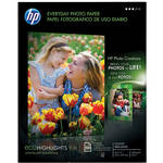 "HP Q8723A Everyday Gloss Photo Paper (Letter, 8.5x11"", 50 Sheets)"