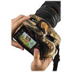 LensCoat BodyGuard CB Clear Back Camera Case (Realtree MAX-4 HD)