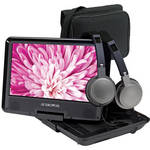 "Audiovox 9"" Portable Swivel Screen Portable DVD Player Kit"