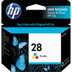 HP 28 Tri-Color Inkjet Print Cartridge