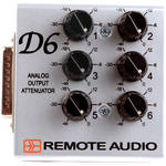Remote Audio D6 Analog Output Attenuator