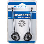 Midland AVP-1 Single-Ear Boom Mic Headset for Extra-Talk and G-Series (Pair)