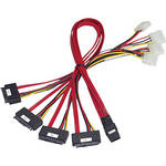 Promise Technology Mini-SAS to SFF-8482 Internal Cable with Power Fan-out (1 m)