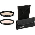 Tiffen 58mm Ultra Clear and Circular Polarizer Filter Kit