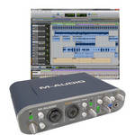 M-Audio Fast Track Pro USB Interface with Pro Tools SE Software
