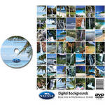 Savage DVD-ROM: Digital Backgrounds (Beaches/Waterfalls)