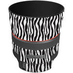 LensSkins Lens Wrap for Canon 85mm f/1.2L II (Zebra (Wild Child))