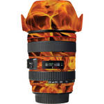 LensSkins Lens Wrap for Canon 24-105mm f/4L IS (Fire)