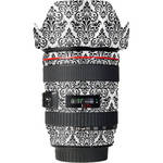 LensSkins Lens Wrap for Canon 24-105mm f/4L IS (BW Damask)