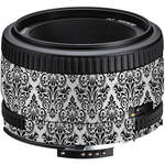 LensSkins Lens Wrap for Nikon 50mm f/1.8D (BW Damask)