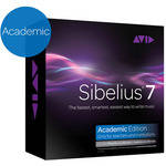 Sibelius Sibelius 7 Academic Teacher plus PhotoScore Ultimate & AudioScore Ultimate (Educational Insitution Discount)