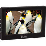 "ikan VL5 5"" HDMI Monitor with Canon LP-E6 (5D) Compatible Battery Plate"
