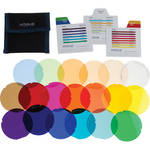 ExpoImaging Rogue Gels Lighting Filter Kit for Rogue Grid (Set of 20)
