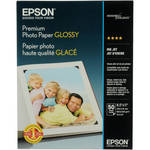 "Epson Premium Glossy Photo Paper - 8.5x11"" - 50 Sheets"