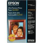 "Epson Ultra Premium Photo Paper Glossy (4 x 6"", 60 Sheets)"