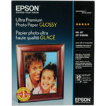 "Epson Ultra Premium Photo Paper Glossy (8.5 x 11"", 25 Sheets)"
