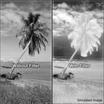 Hoya 55mm #RM90 Infrared Glass Filter
