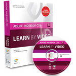 Pearson Education Book & DVD-ROM: Adobe InDesign CS5: Learn by Video