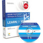 Pearson Education Book & DVD-ROM: Adobe Photoshop CS5 Techniques for Photographers: Learn by Video