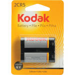 Kodak 2CR5 6v Lithium Battery