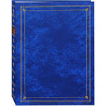 Pioneer Photo Albums APS-247 3-Ring Bi-Directional Memo Pocket Album (Royal Blue)