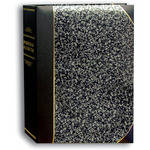 Pioneer Photo Albums LBT-57 Mini Ledger Le Memo Album (Silver Marble)