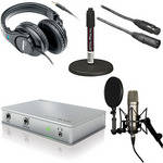 MOTU MicroBook Value Bundle - Desktop Recording Bundle