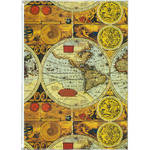 Pioneer Photo Albums XG-426 Flexible Cover Photo Album (Ancient World Map)