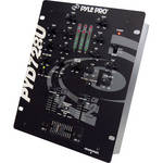 Pyle Pro PYD728U 2-Channel Professional DJ Mixer with USB