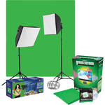 Westcott uLite Green Screen Lighting Kit (120VAC)