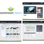 Sorenson Media Sorenson 360 Online Video Platform With 6000GB Bandwidth/10GB Storage/Squeeze 8 Lite