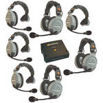 Eartec COMSTAR XT-7 7-User Full Duplex Wireless Intercom System