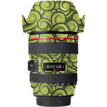 LensSkins Lens Skin for the Canon 24-105mm f/4L IS EF USM Lens (Green Swirl)
