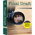 Final Draft Final Draft 8.0 Screenwriting Software for Mac and Windows (Educational)