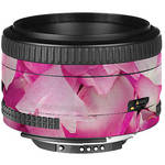 LensSkins Lens Skin for the Nikon 50mm f/1.8D AF Lens (Pink Petals)