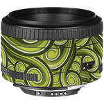 LensSkins Lens Skin for the Nikon 50mm f/1.8D AF Lens (Green Swirl)