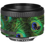 LensSkins Lens Skin for the Nikon 50mm f/1.8D AF Lens (Peacock Bliss)