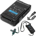 Marantz Professional PMD-660K - Portable Compact Flash Recorder Kit