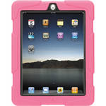 Griffin Technology Survivor: Extreme-Duty Case for iPad 2 & new iPad with Stand (Pink/Black)
