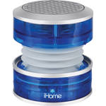 "iHome iHM60 ""CrystalTunes"" Portable MultiMedia Speaker (Blue)"